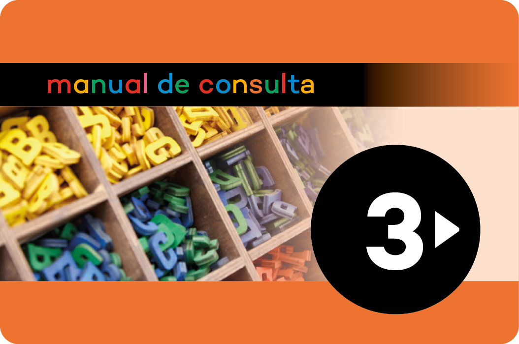 Manual de consulta. Lengua castellana 3