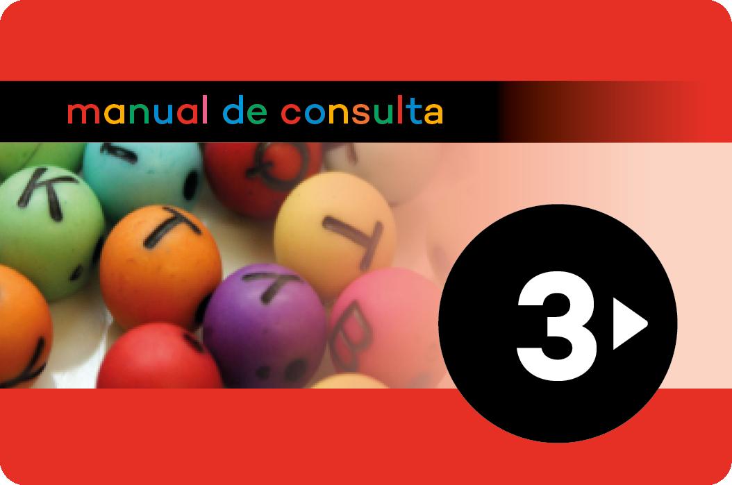 Manual de consulta. Llengua catalana 3
