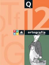 Quadern Ortografía castellana 12