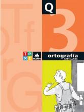 Quadern Ortografía castellana 3