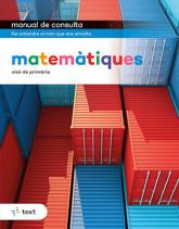 Manual de consulta. Matemàtiques 6