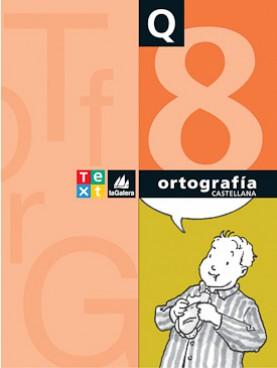 Quadern Ortografía castellana 8