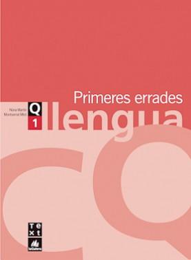 Quadern de llengua 1: Primeres errades