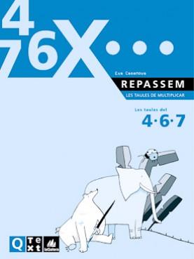 Quadern Taules de multiplicar del 4, 6 i 7