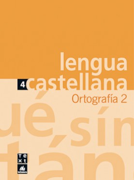Quadern de Lengua castellana Ortografía 2