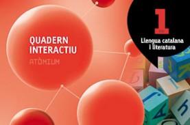 Quadern interactiu Llengua catalana i literatura 1 ESO Atòmium