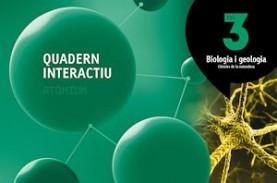 Quadern interactiu Biologia i geologia 3 ESO Atòmium