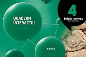 Quadern interactiu Biologia i geologia 4 ESO Atòmium