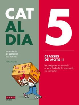 Cat al dia 5: Classes de mots II